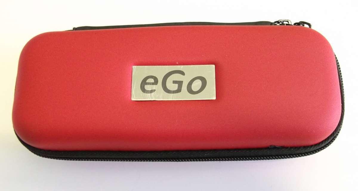 Červené cestovní střední pouzdro eGo k elektronické cigaretě