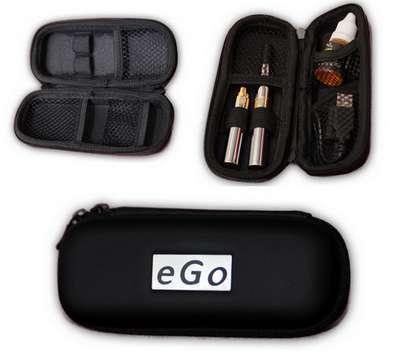 Cestovní plastové pouzdro eGo k elektronické cigaretě - střední