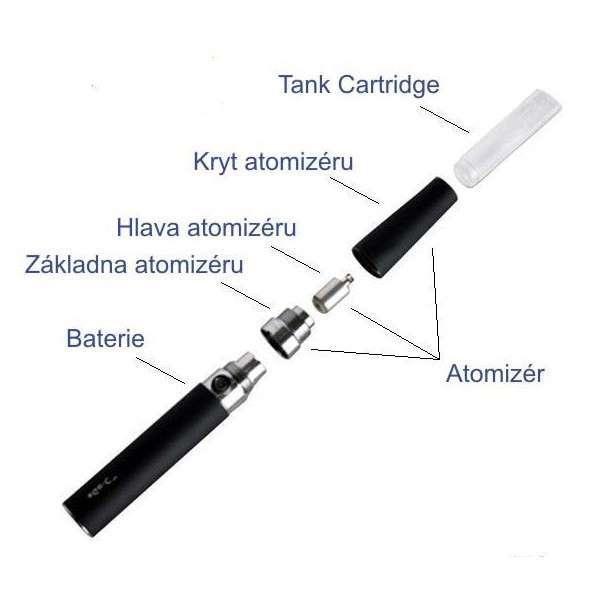 Kryt atomizer eGo-c