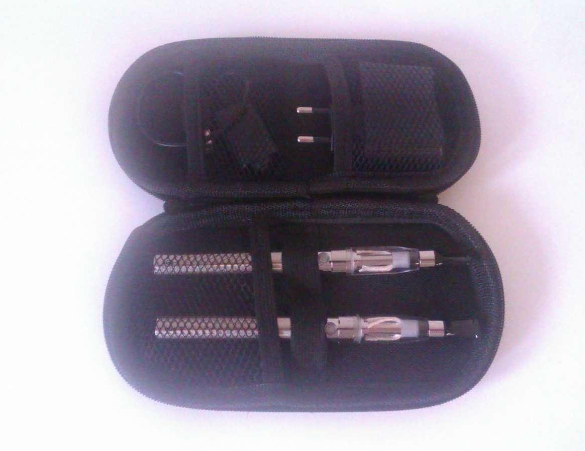 NEREZOVÁ elektronická cigareta eGo CE4+V2 1100 mAh v cestovním pouzdru, 2 kusy