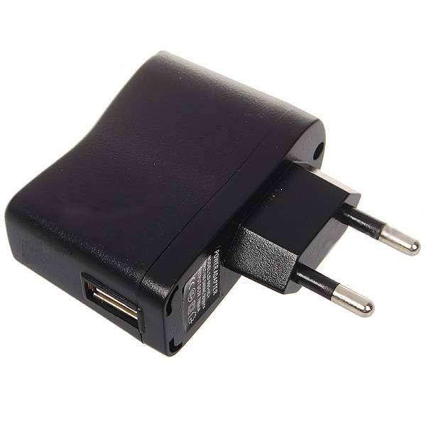 Síťový adaptér 230V na USB pro elektronické cigarety