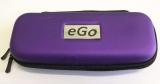 Zobrazit detail - Fialové - purpurové cestovní střední pouzdro  eGo k elektronické cigaretě