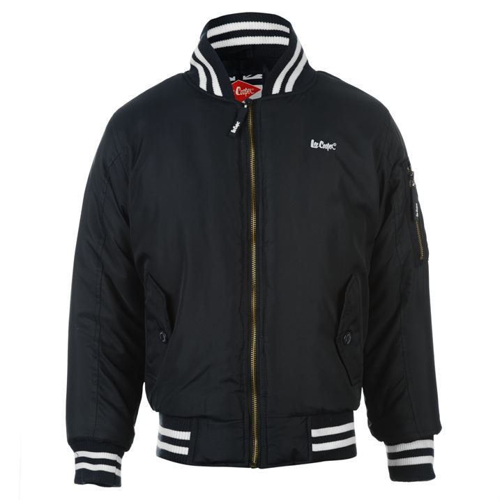 Lee Cooper Bomber Jacket Junior Boys